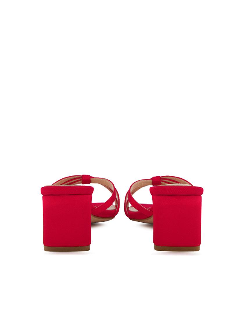 Сатиновые босоножки Diana MRSL_906102, фото 1 - в интернет магазине KAPSULA