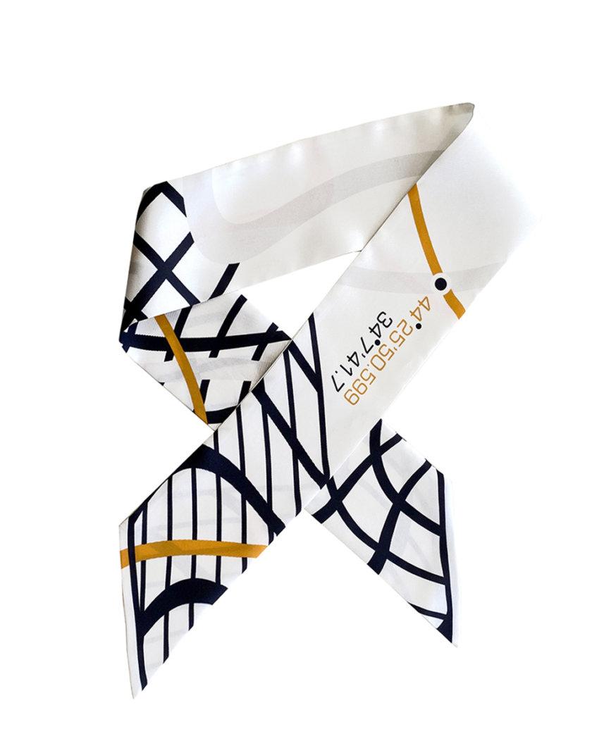 Шелковый твилли LAB_SL02, фото 1 - в интернет магазине KAPSULA