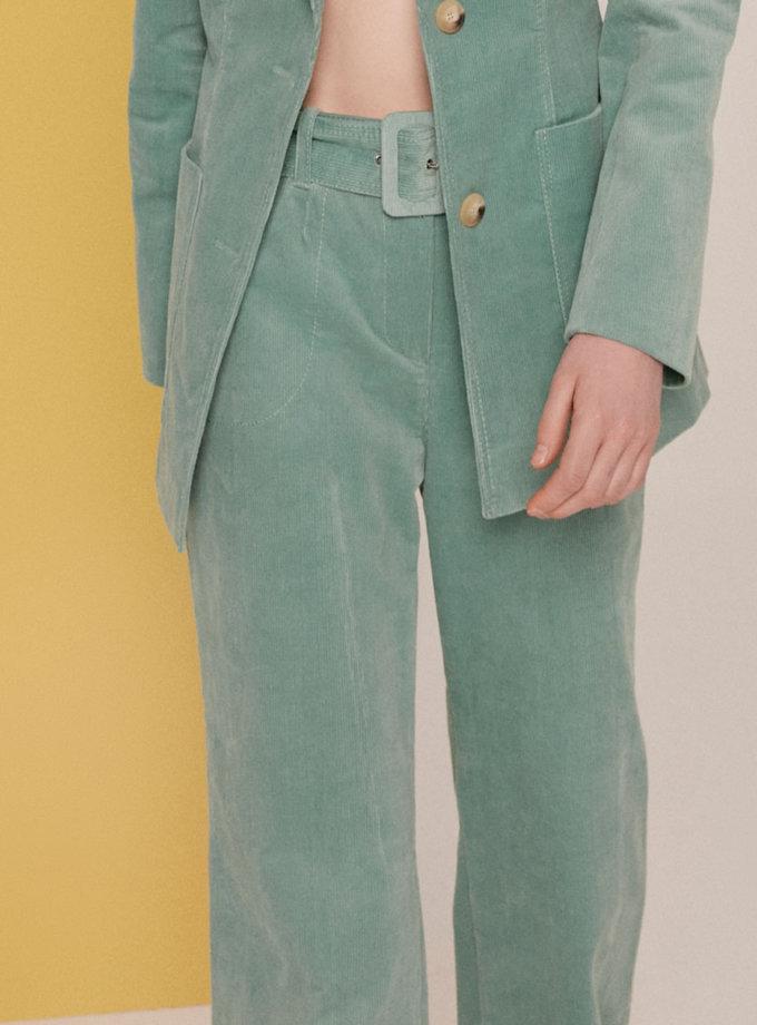 Вельветовые брюки SAYYA_SS1134-1, фото 1 - в интернет магазине KAPSULA