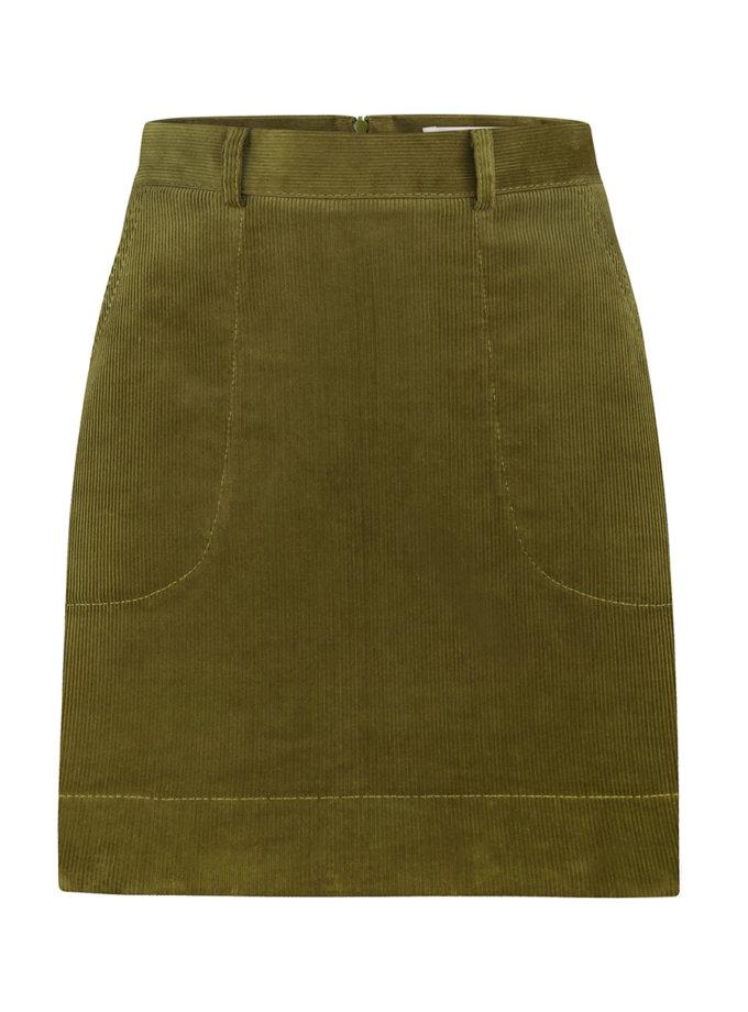 Вельветовая юбка мини SAYYA_SS1135, фото 1 - в интернет магазине KAPSULA