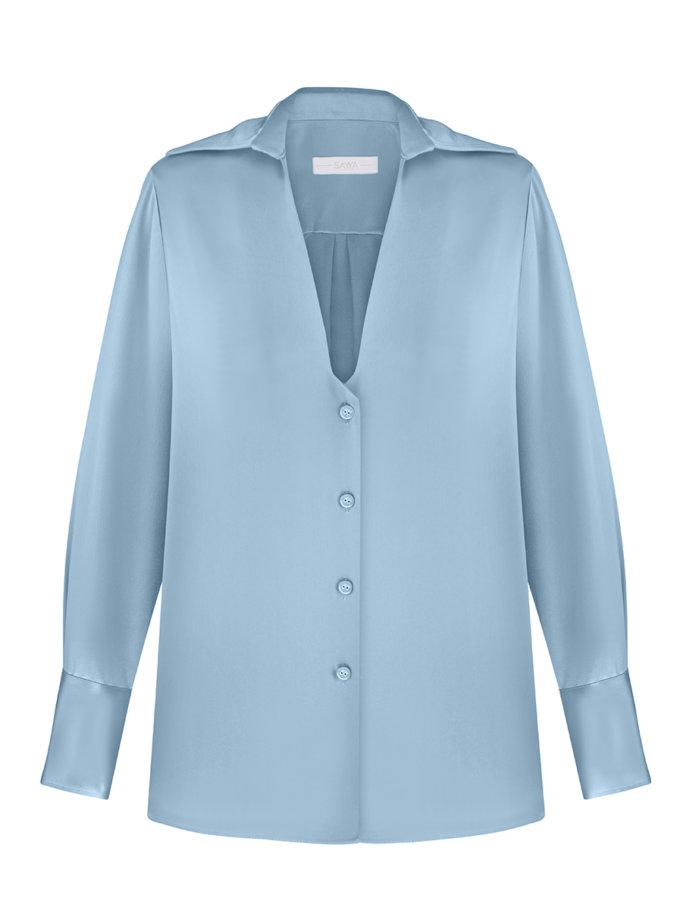 Шелковая блуза SAYYA_SS1136, фото 1 - в интернет магазине KAPSULA