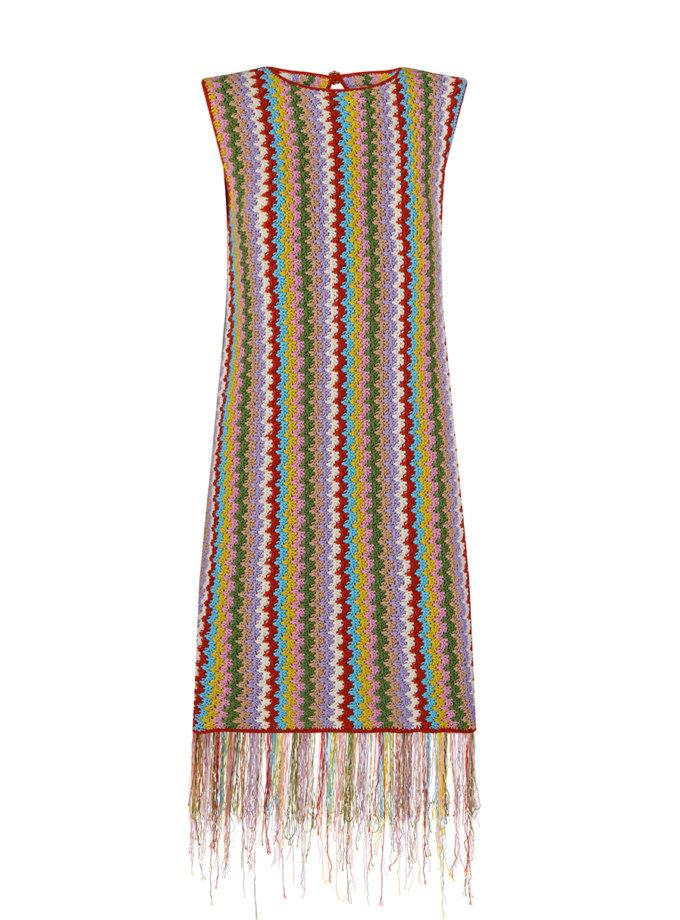 Вязаное платье SAYYA_SS1145, фото 1 - в интернет магазине KAPSULA