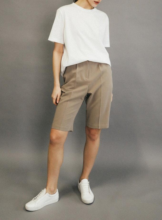 Хлопковая футболка с вышивкой PODYH PDH_SS20_0005, фото 1 - в интернет магазине KAPSULA