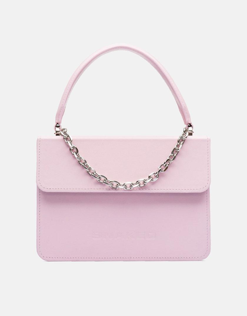 Кожаная сумка Boy Bag in Pink SNKD_P0047S, фото 1 - в интернет магазине KAPSULA