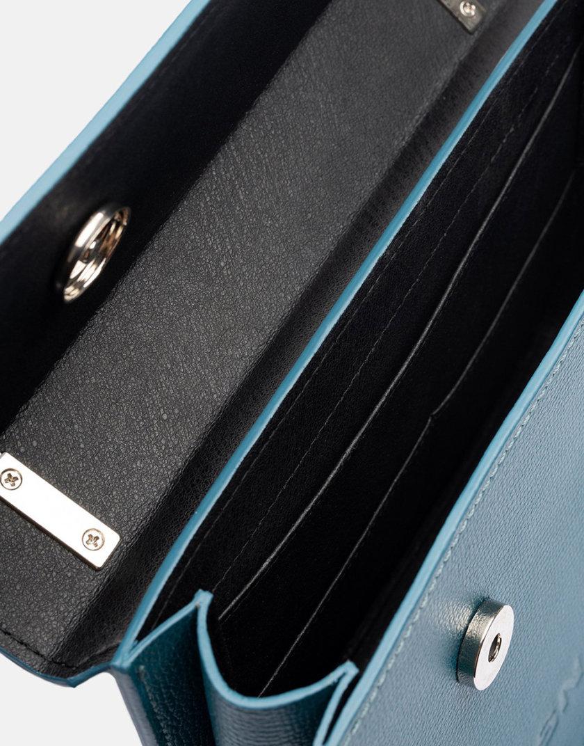 Кожаная сумка Boy Bag  in Navy SNKD_P0045S, фото 1 - в интернет магазине KAPSULA