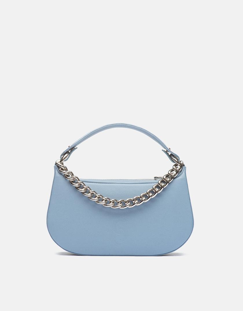 Кожаная сумка Saddle Bag in Baby Blue SNKD_P0048S, фото 1 - в интернет магазине KAPSULA