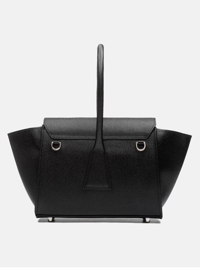 Кожаная сумка Mini Trapeze Bag SNKD_P0006S, фото 1 - в интернет магазине KAPSULA