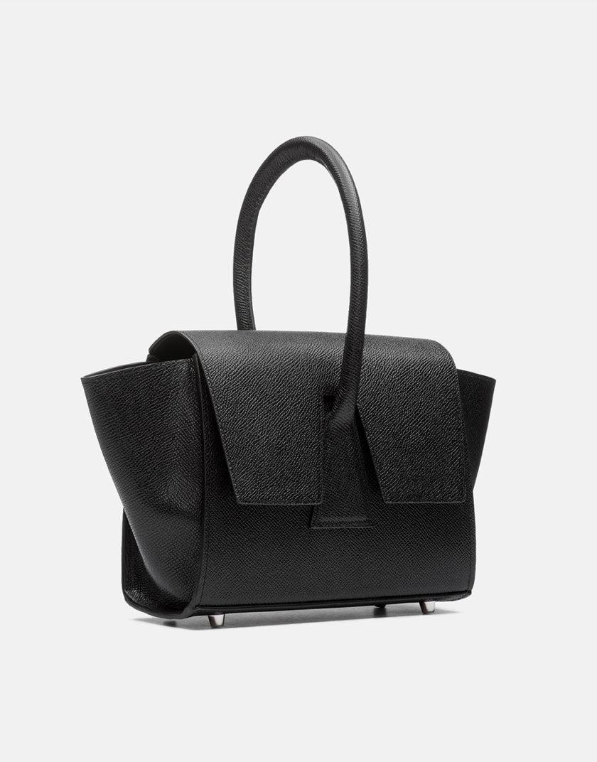 Кожаная сумка Mini Trapeze Bag Closed SNKD_P0005S, фото 1 - в интернет магазине KAPSULA