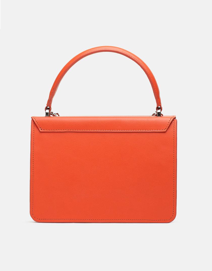 Кожаная сумка Boy Bag in Orange SNKD_P0011S, фото 1 - в интернет магазине KAPSULA