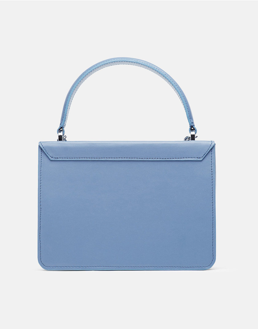 Кожаная сумка Boy Bag in Blue SNKD_P0034S, фото 1 - в интернет магазине KAPSULA