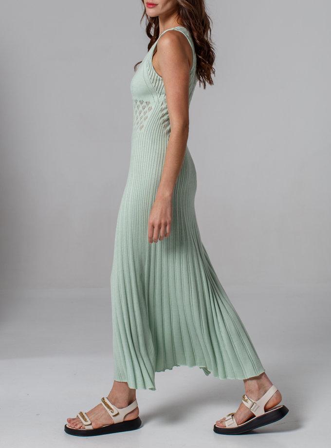 Ажурное платье без рукавов NBL_2103-DRESSLACEMINT, фото 1 - в интернет магазине KAPSULA