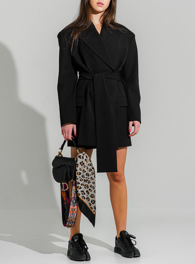 Платье-жакет из шерсти TATI_1234, фото 1 - в интернет магазине KAPSULA