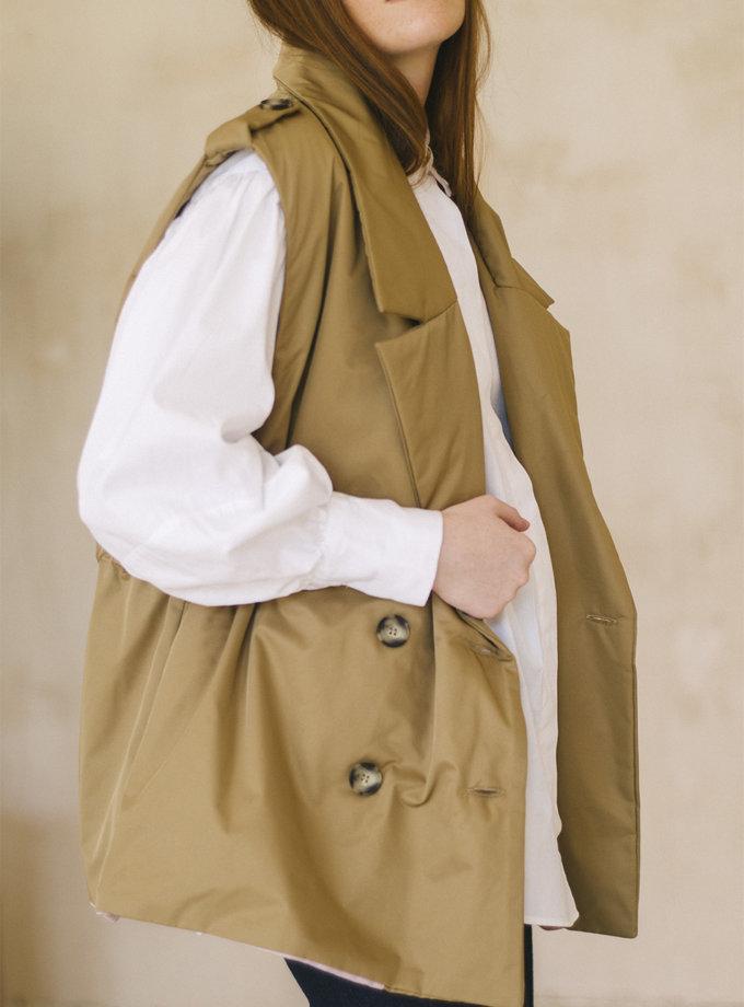 Утепленный жилет-тренч NST_ZH1, фото 1 - в интернет магазине KAPSULA