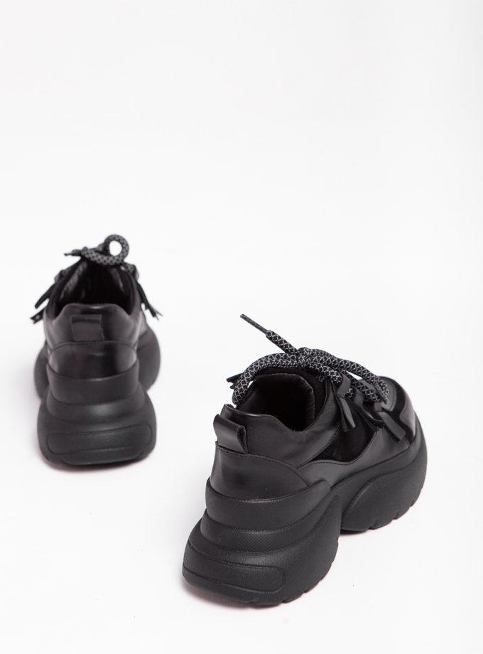 Кожаные кроссовки Yes Me ED_YM_01, фото 1 - в интернет магазине KAPSULA