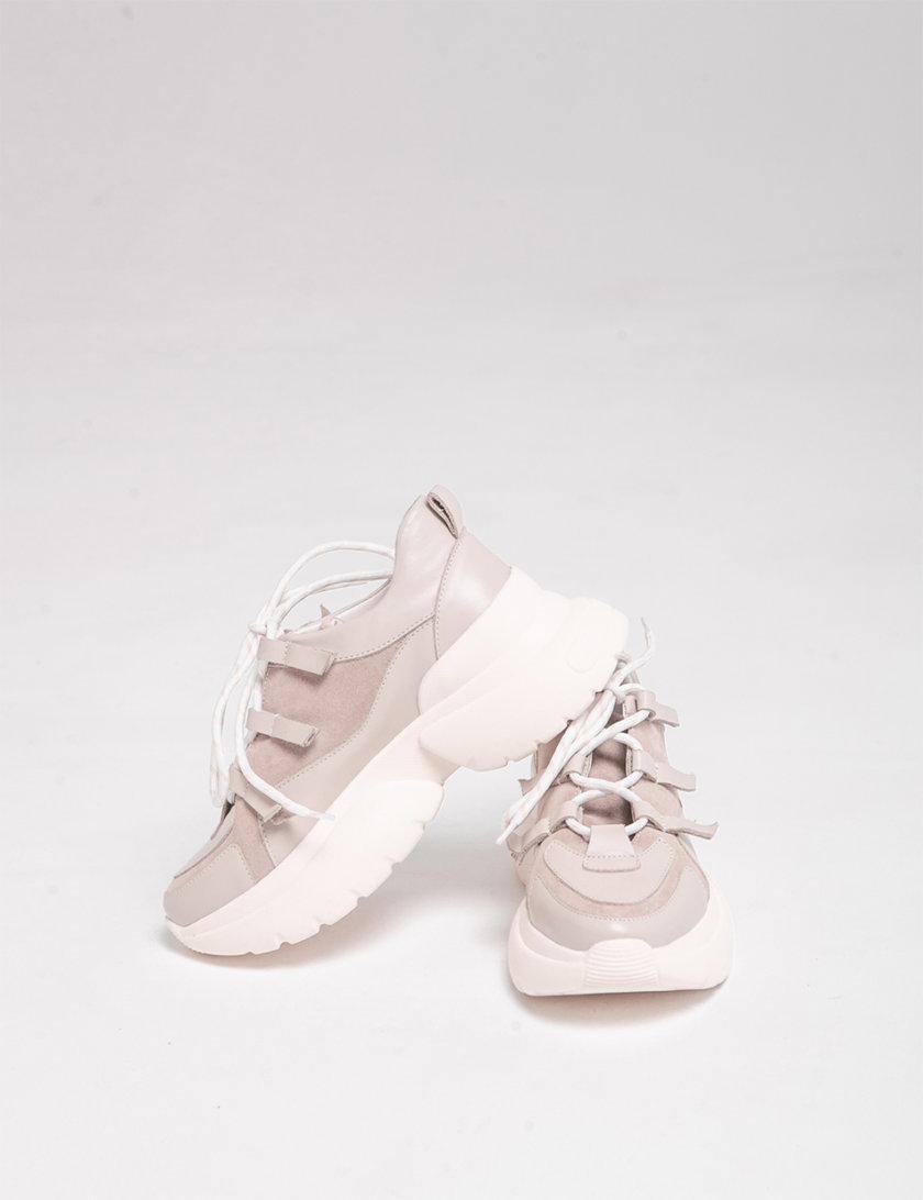Кожаные кроссовки Yes Me ED_YM_13, фото 1 - в интернет магазине KAPSULA