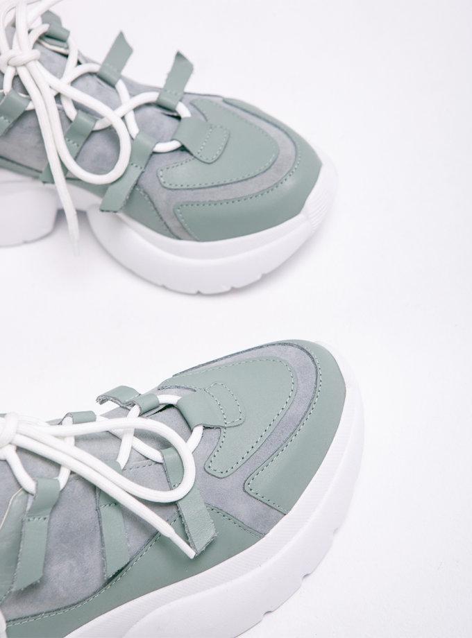 Кожаные кроссовки Yes Me ED_YM_17, фото 1 - в интернет магазине KAPSULA
