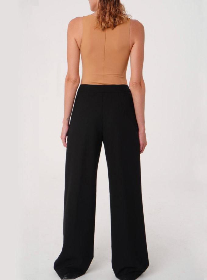 Широкие брюки из шерсти TATI_3433, фото 1 - в интернет магазине KAPSULA