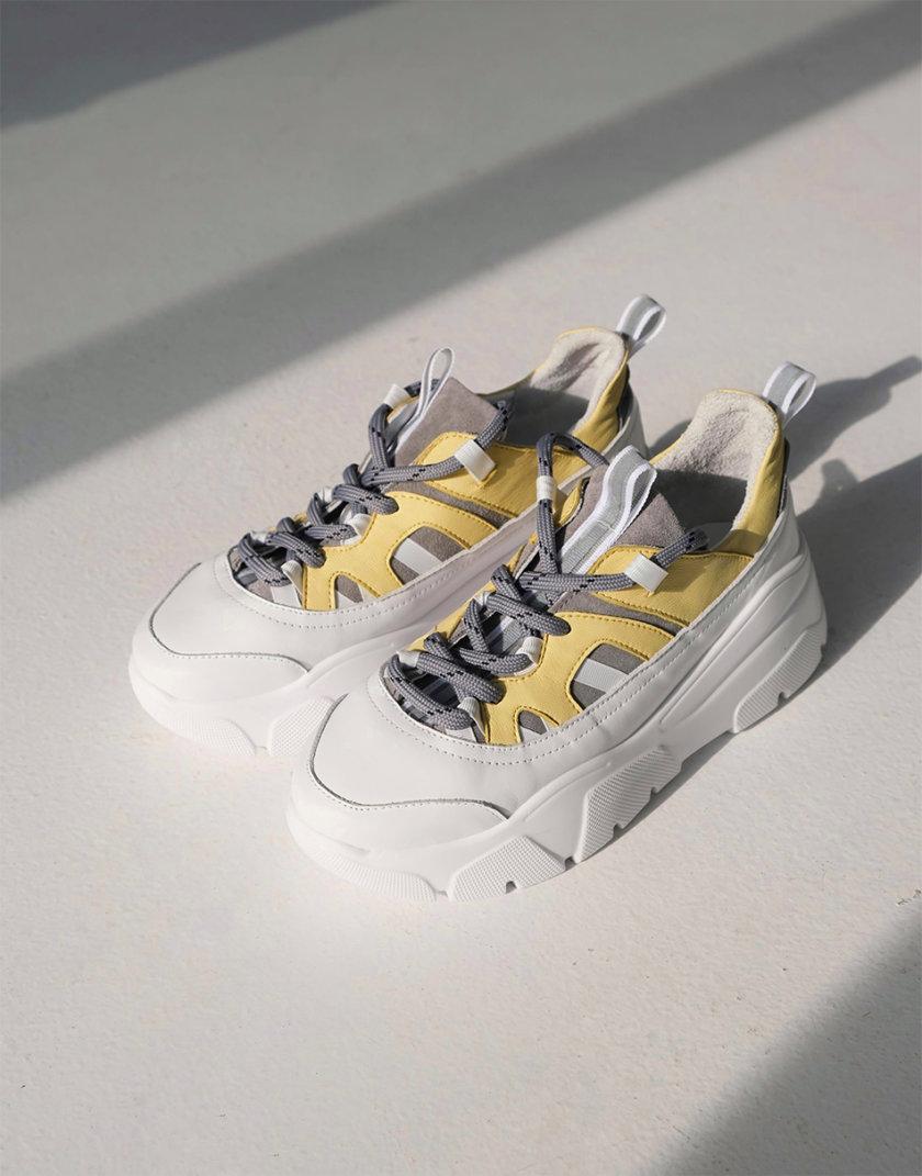 Кожаные кроссовки Creed ED_CRD_07, фото 1 - в интернет магазине KAPSULA