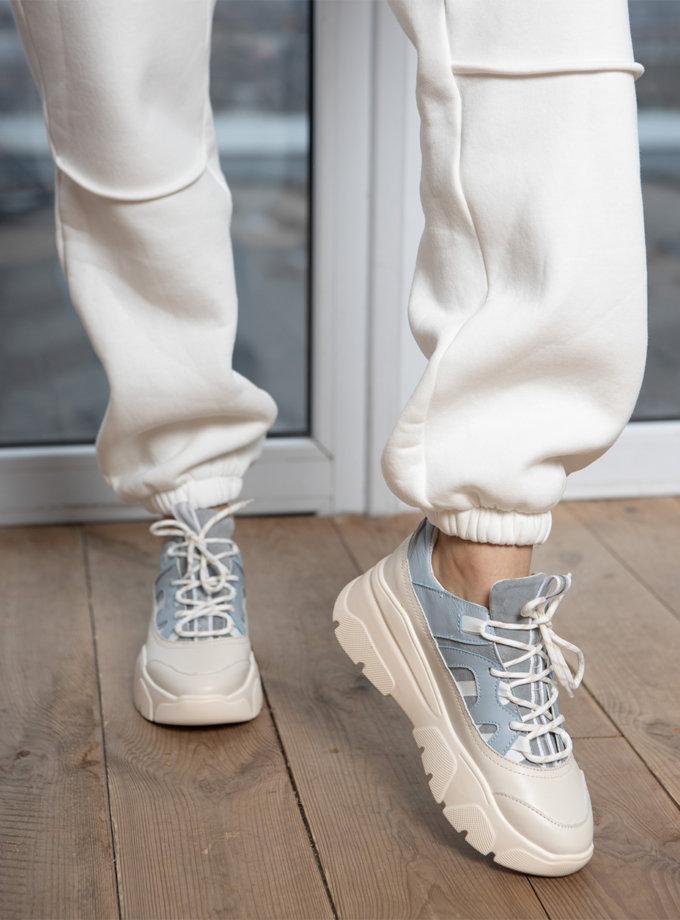 Кожаные кроссовки Creed ED_CRD_08, фото 1 - в интернет магазине KAPSULA