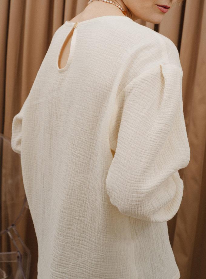 Блуза из хлопка MNTK_MTS2140, фото 1 - в интернет магазине KAPSULA