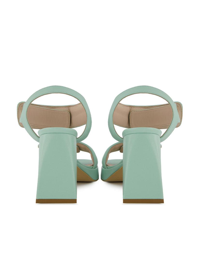 Кожаные босоножки Zoe MRSL_76962, фото 1 - в интернет магазине KAPSULA