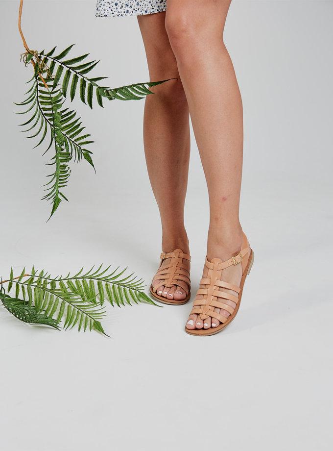 Кожаные босоножки Afina ED_AF_13, фото 1 - в интернет магазине KAPSULA