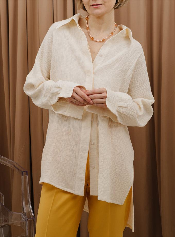 Рубашка из хлопка MNTK_MTS2139, фото 1 - в интернет магазине KAPSULA