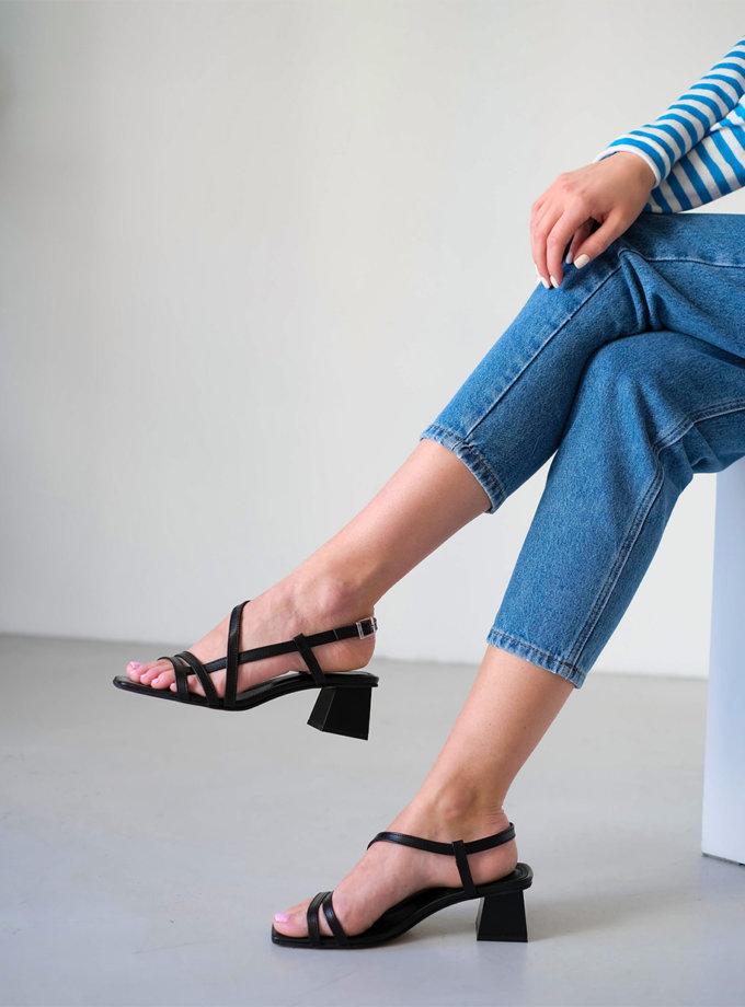 Кожаные босоножки Monica ED_MON_01, фото 1 - в интернет магазине KAPSULA