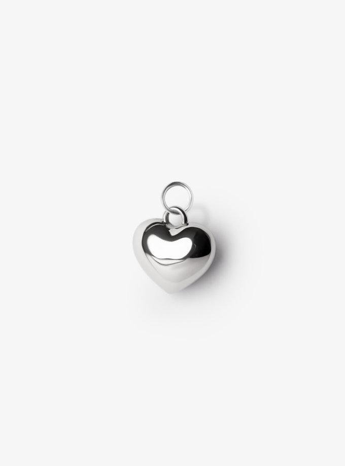 Кулон в форме сердца CY_P-7031-1, фото 1 - в интернет магазине KAPSULA