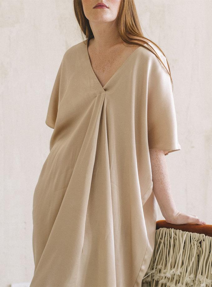 Сукня міді вільного крою NST_SB1, фото 1 - в интернет магазине KAPSULA