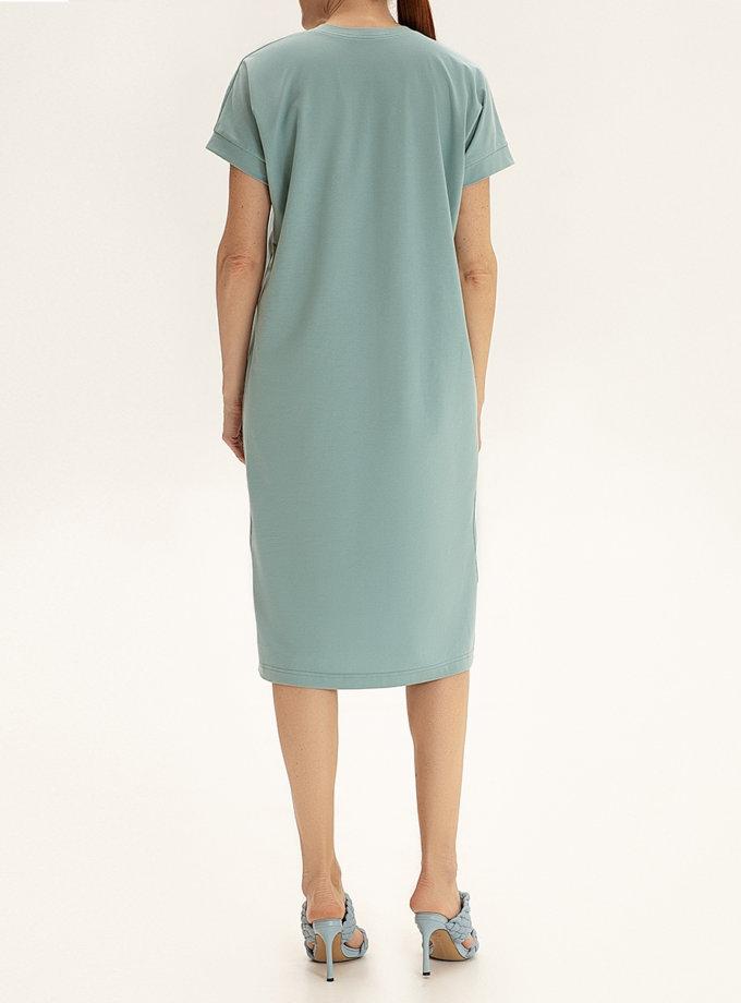 Хлопковое платье-футболка WNDR_ ss21_tbi_01, фото 1 - в интернет магазине KAPSULA