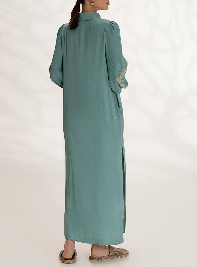 Легкое платье-рубашка с вышивкой WNDR_ss21_vbi_05, фото 1 - в интернет магазине KAPSULA