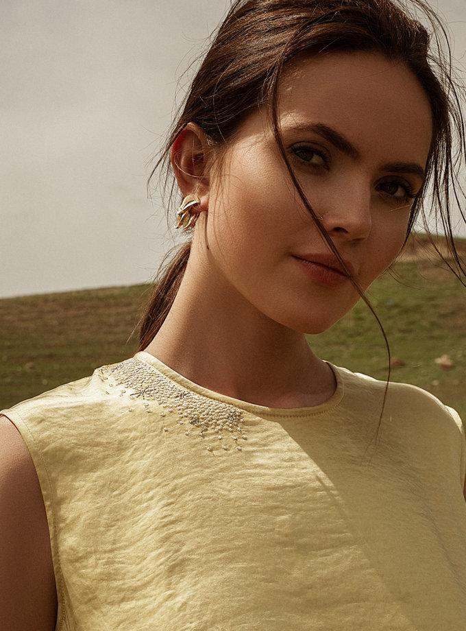 Платье миди с вышивкой WNDR_ss21_sye_04, фото 1 - в интернет магазине KAPSULA