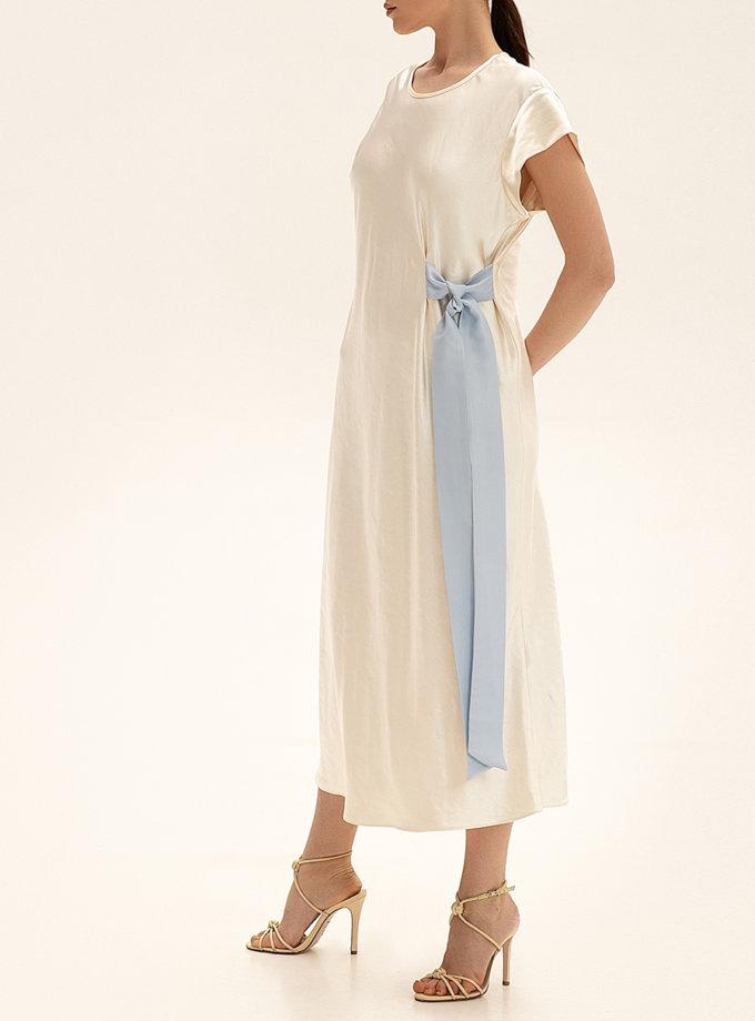 Платье миди с контрастным декором WNDR_ss21_sml_05, фото 1 - в интернет магазине KAPSULA