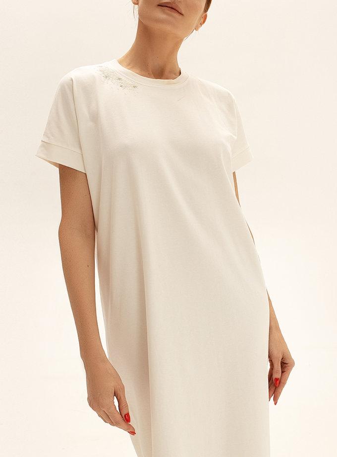 Хлопковое платье-футболка WNDR_ss21_tml_01, фото 1 - в интернет магазине KAPSULA