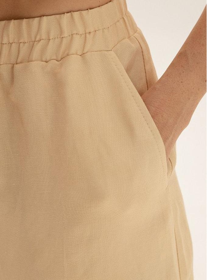 Зауженные брюки из льна WNDR_ss21_lml_06, фото 1 - в интернет магазине KAPSULA