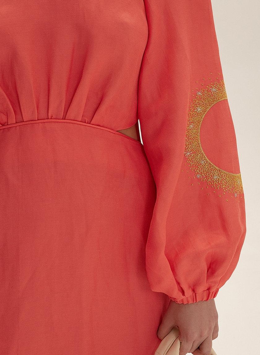 Платье миди из льна WNDR_ss21_lc_10, фото 1 - в интернет магазине KAPSULA