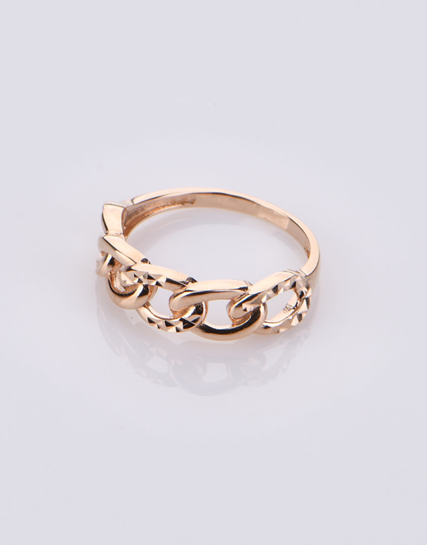 Кольцо из красного золота DUD_1_201_030, фото 1 - в интернет магазине KAPSULA