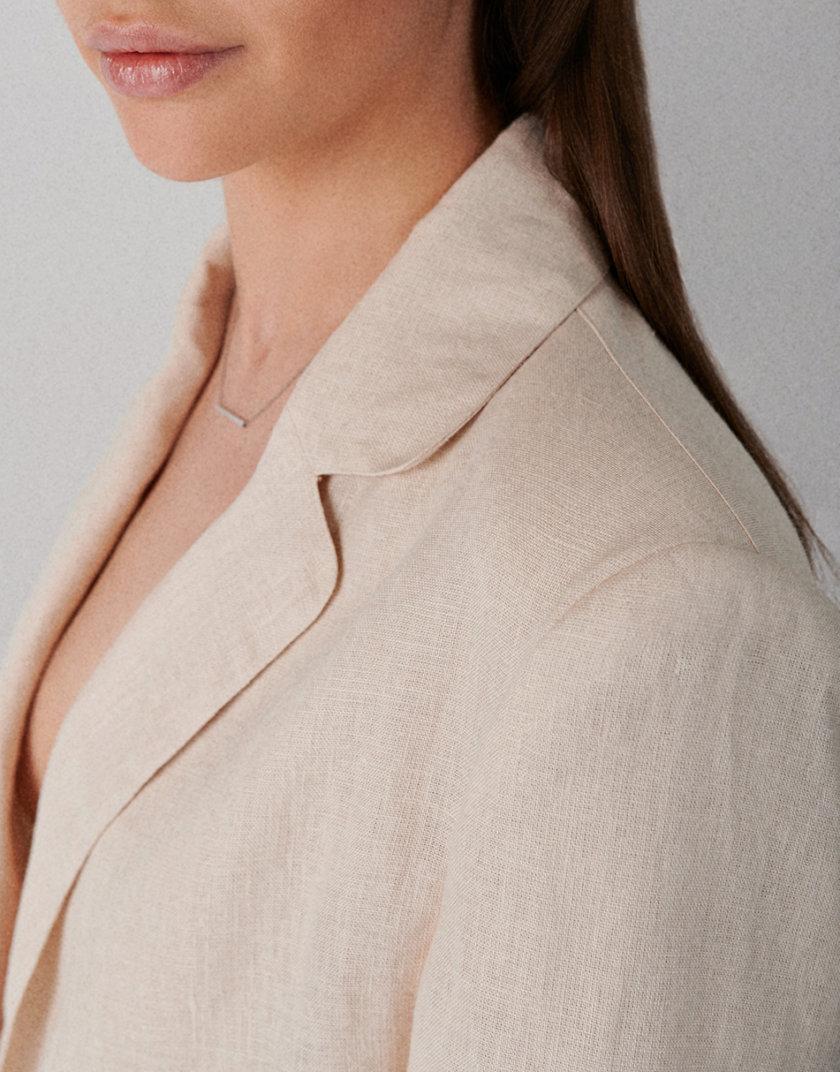 Жакет из льна KLNA_LN-white, фото 1 - в интернет магазине KAPSULA