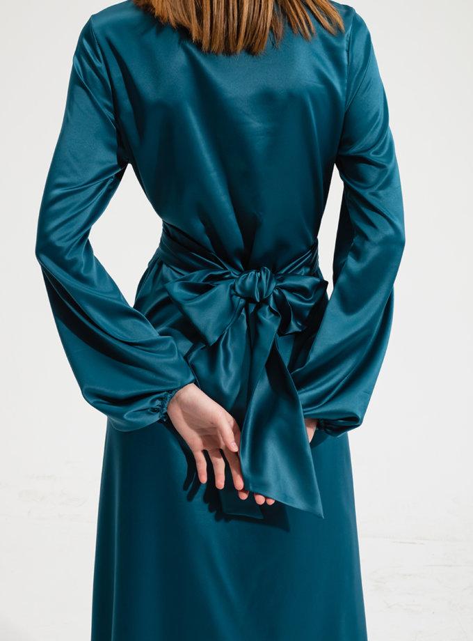 Платье макси с хомутом RVR_RESS21-2034MN, фото 1 - в интернет магазине KAPSULA