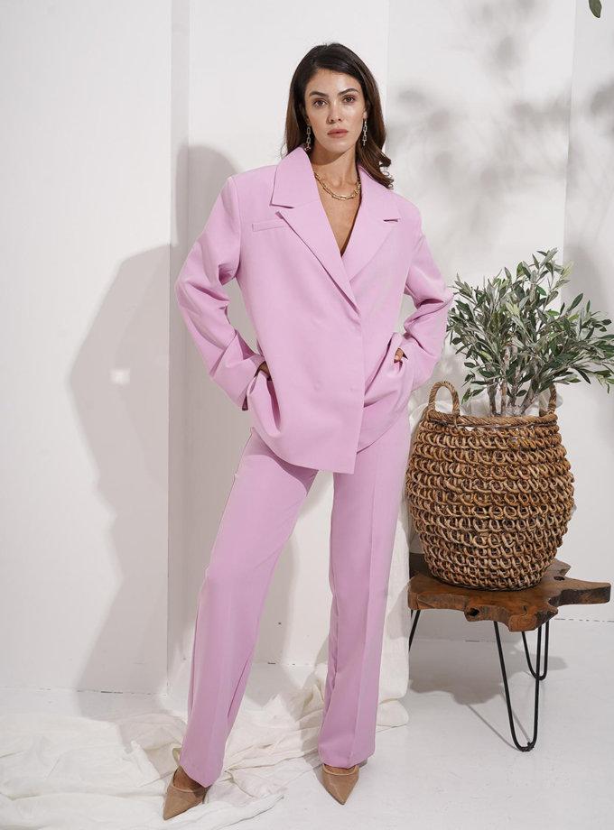 Брючный костюм Pink MC_MY6321-1, фото 1 - в интернет магазине KAPSULA