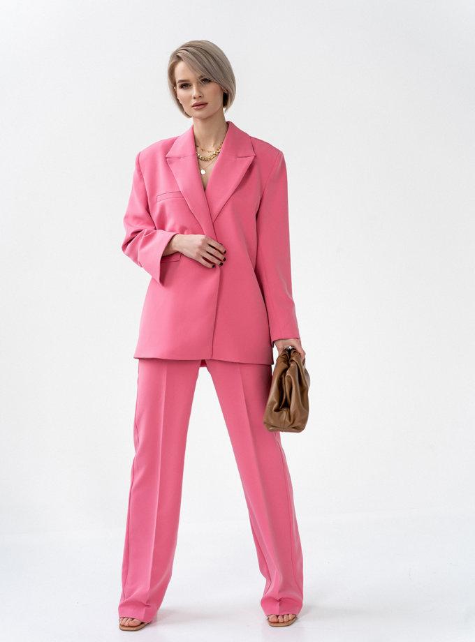 Брючный костюм Pink MC_MY6321, фото 1 - в интернет магазине KAPSULA