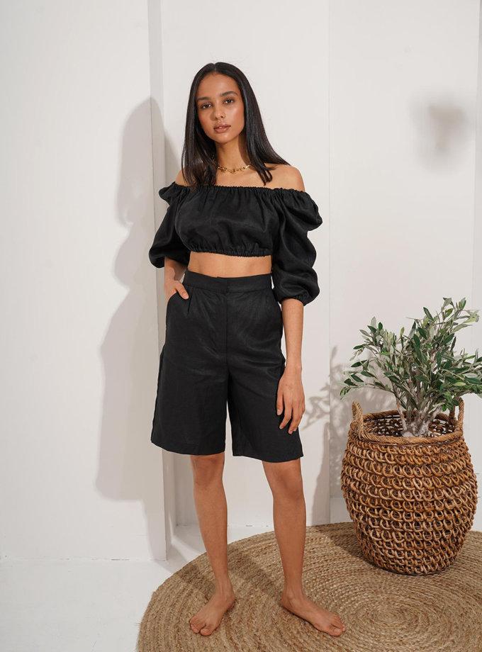 Льняной костюм с шортами Beatrice MC_MY6521, фото 1 - в интернет магазине KAPSULA