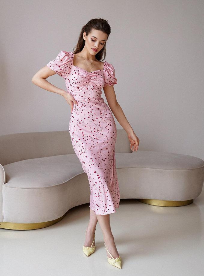Платье миди Rebecca MC_MY6721-1, фото 1 - в интернет магазине KAPSULA