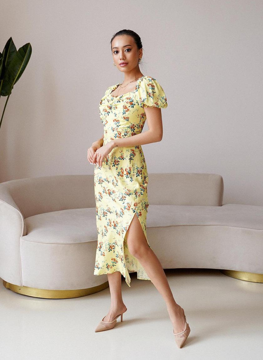 Платье миди Rebecca MC_MY6721-2, фото 1 - в интернет магазине KAPSULA