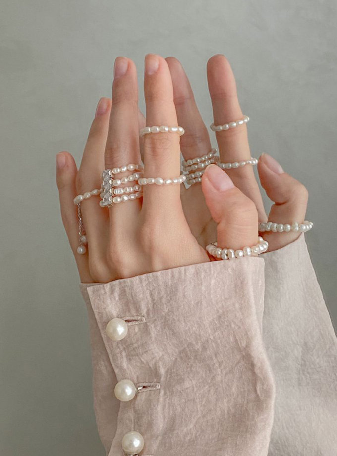 Кольцо с цепочками AKOVA_Ring_chain, фото 1 - в интернет магазине KAPSULA