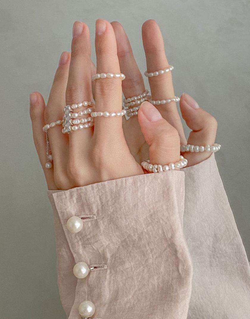 Сет колец из трех единиц AKOVA_Ring_set3, фото 1 - в интернет магазине KAPSULA