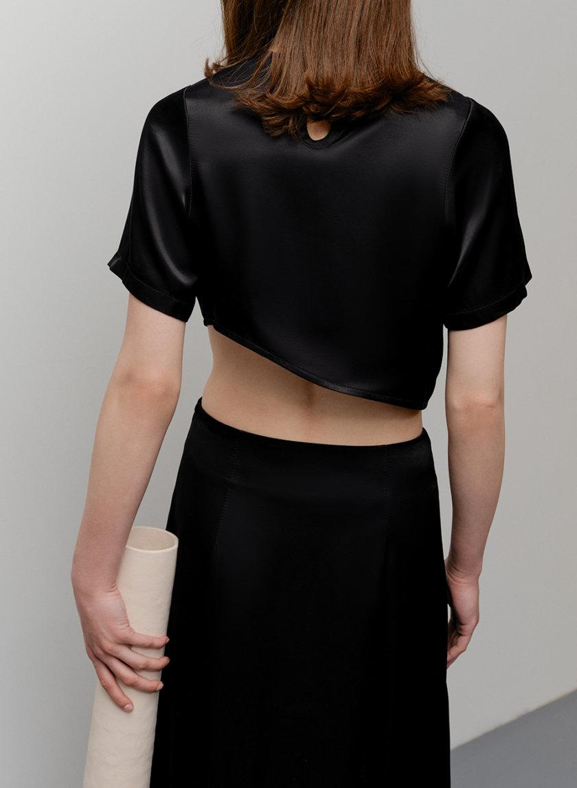 Платье-трансформер со съемным кольцом FORMA_SS21-13, фото 1 - в интернет магазине KAPSULA