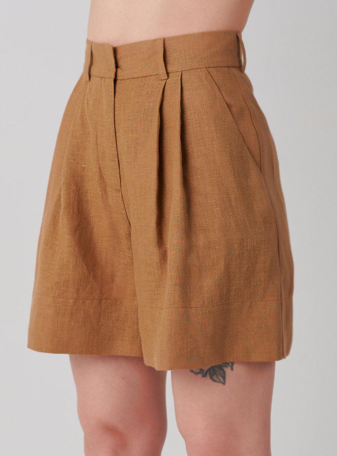 Шорты из льна KLNA_shorts-sahara, фото 1 - в интернет магазине KAPSULA