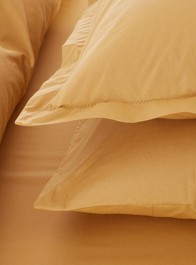 Пододеяльник с наволочками Catherine  Mustard PN_svt-2000022278485, фото 1 - в интернет магазине KAPSULA